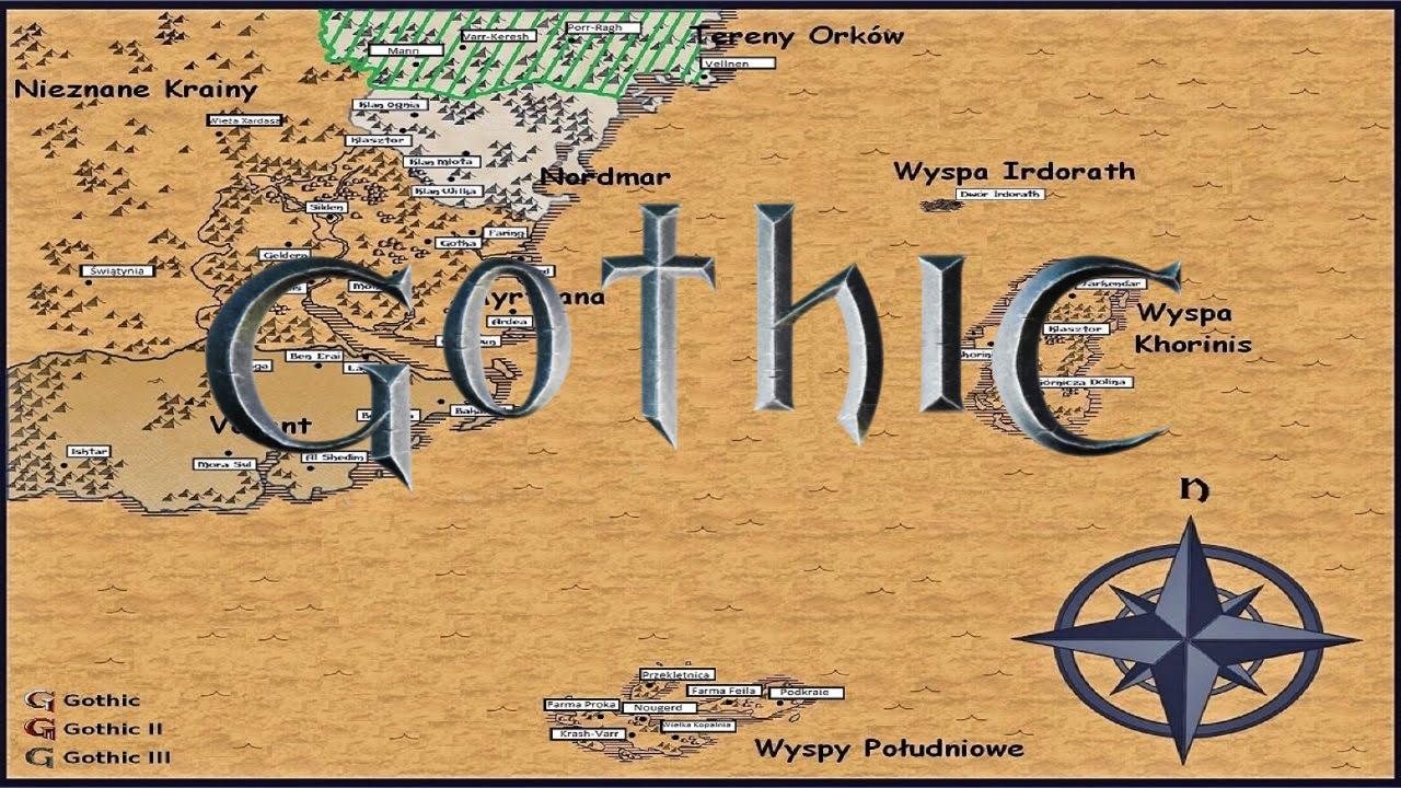 Prawdziwy Gothic 4 1 Mapa I Sytuacja Na Swiecie Youtube