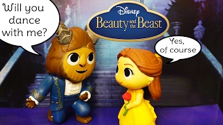 Mystery Minis ! Toys and Dolls Fun with Blind Bag Boxes from Beauty & the Beast Movie | SWTAD