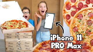 Download Last to Stop Eating PIZZA Wins Mystery Box! Mp3 and Videos