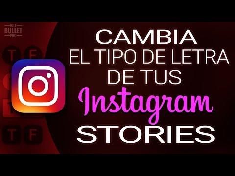 COMO CAMBIAR EL TIPO DE LETRA DE  INSTAGRAM STORIES