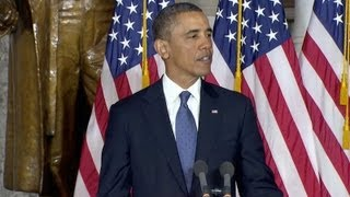 President Obama Dedicates a Statue Honoring Rosa Parks  2/27/13