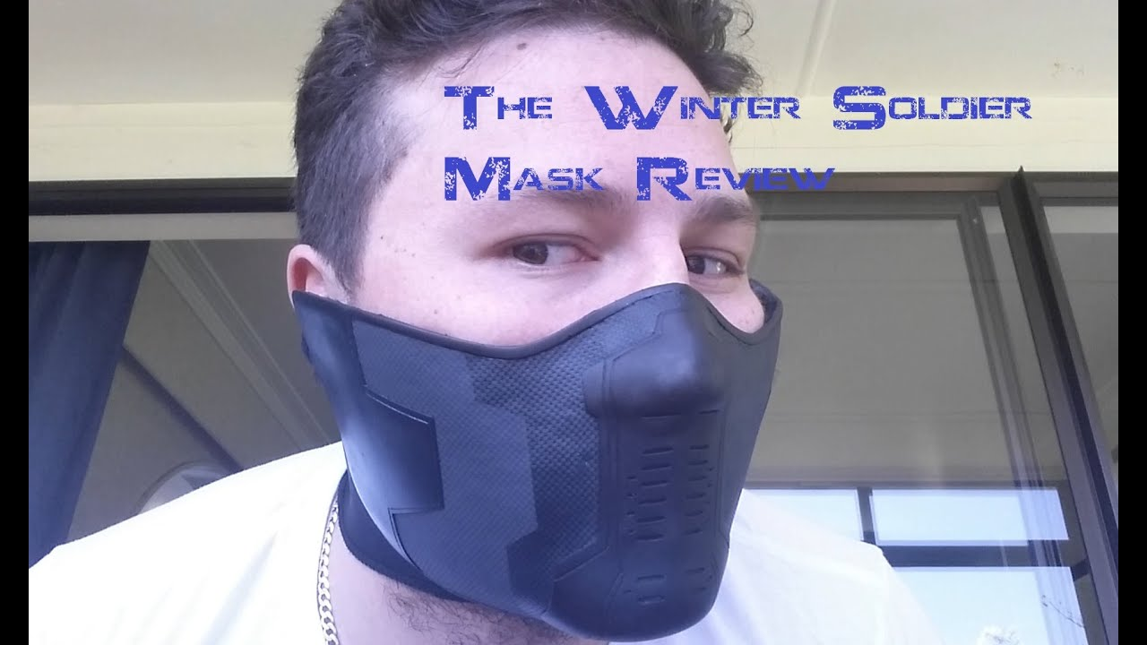 The Winter Soldier Mask Review - YouTube