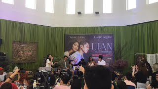 Happening now ulan media conference