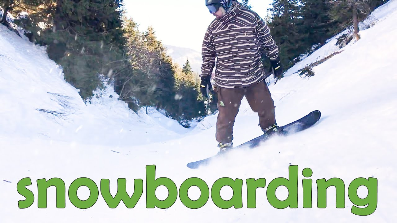 Сноубординг, горнолыжный спуск Драгобрат, Желоб