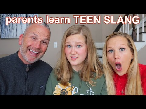 teaching my parents SLANG TERMS OF 2020