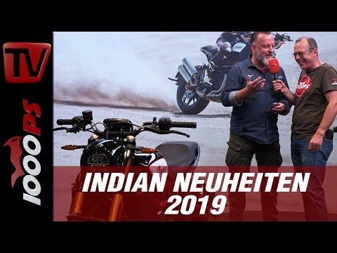 Indian FTR 1200 2019 auf der INTERMOT 2018 - Neuheit im Visier