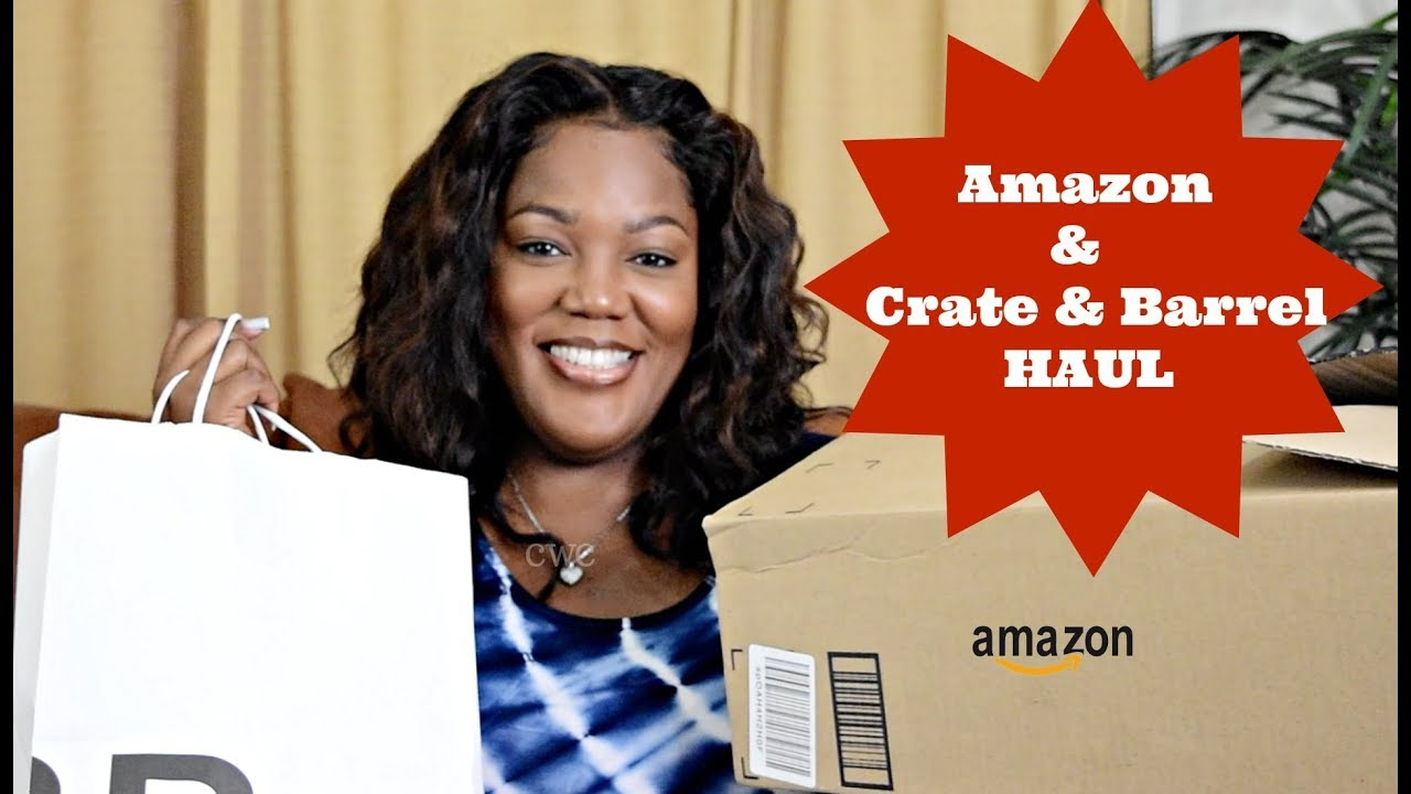 Crate & Barrel and Amazon Haul |Cooking With Carolyn
