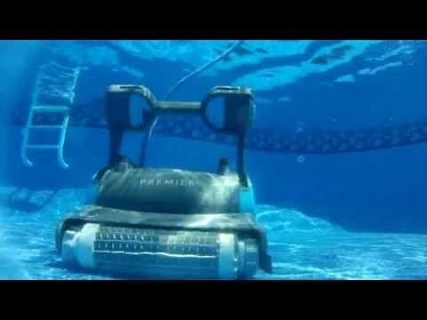 dolphin premier robotic pool cleaner youtube. Black Bedroom Furniture Sets. Home Design Ideas