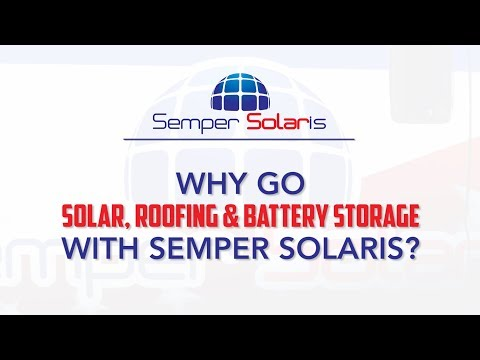 The Advantage of Using One Contractor for Solar, Roofing & Battery Storage - Semper Solaris