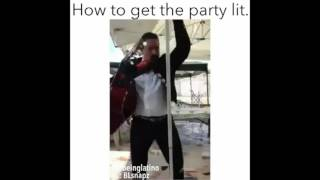 How to get the party LIT! Amazing!