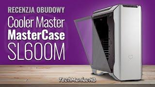 Obudowa z fenomenalnie dobrym chłodzeniem! ❄️CoolerMaster Mastercase SL600M