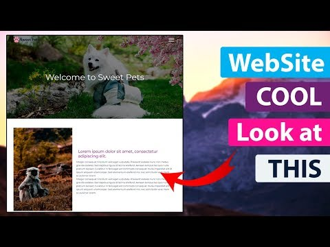 How To BUILD WebSite In HTML CSS & JAVASCRIPT ❤️ BEST Tutorial Web