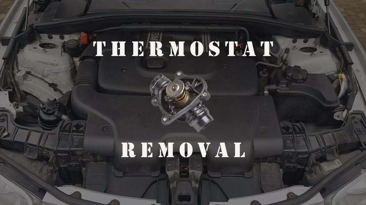 bmw e90 87 thermostat replacement e91, e92, e93, e46, e60 deisel engine bmw e90 87 thermostat replacement e91, e92, e93, e46, e60 😸