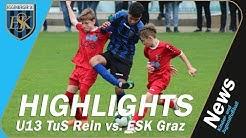 ▶️ Testspiel U13 ◀️ Tus Rein vs. ESK Graz vom 4.11.2018