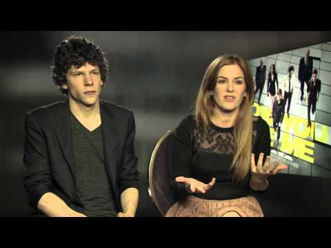 Mybliss Chats To Jesse Eisenberg And Isla Fisher!