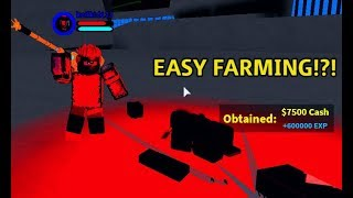 How to AFK farm any npc without dying | boku no roblox remastered