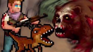 Killing Zombies with my PET DINOSAUR! (Fury Survivor)