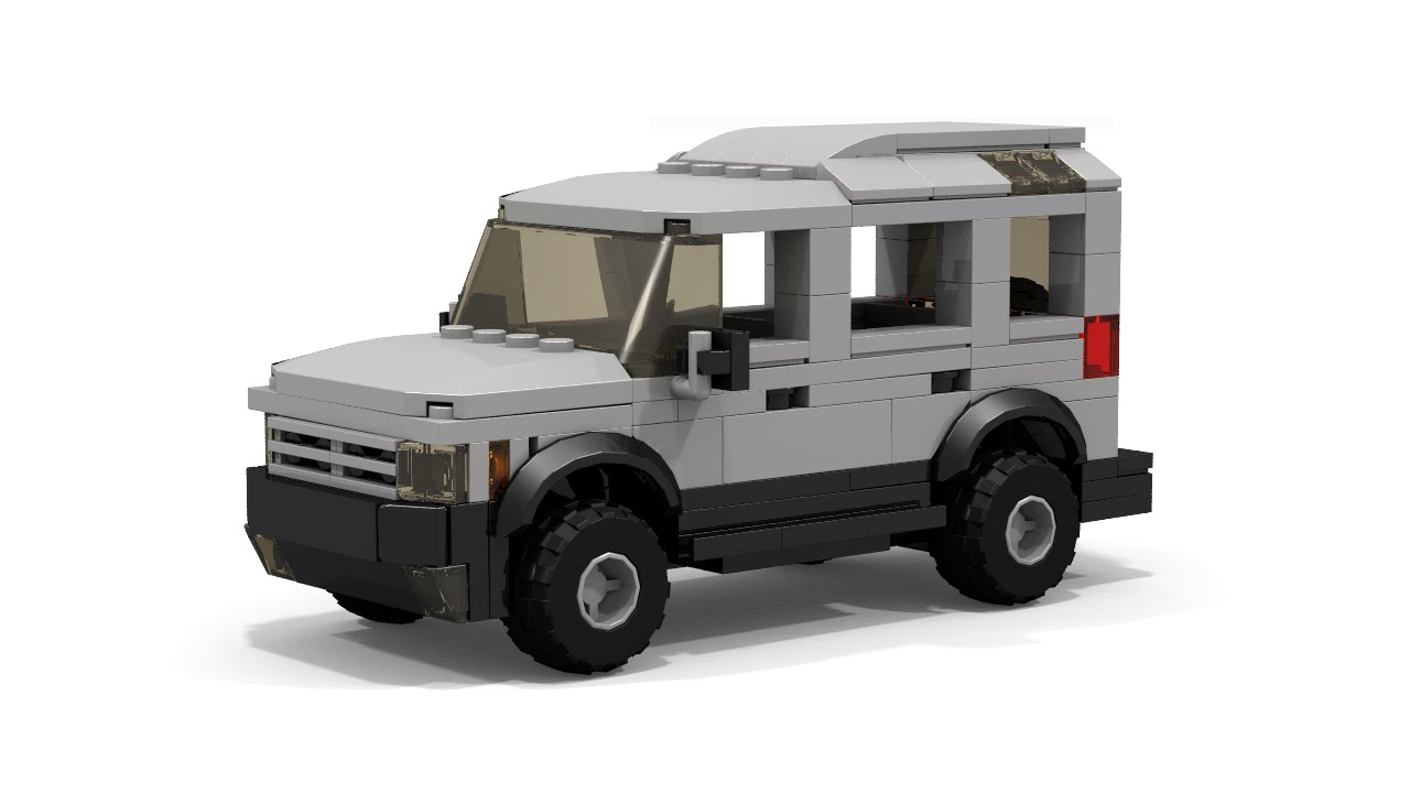 lego land rover style 4x4 car instructions youtube. Black Bedroom Furniture Sets. Home Design Ideas