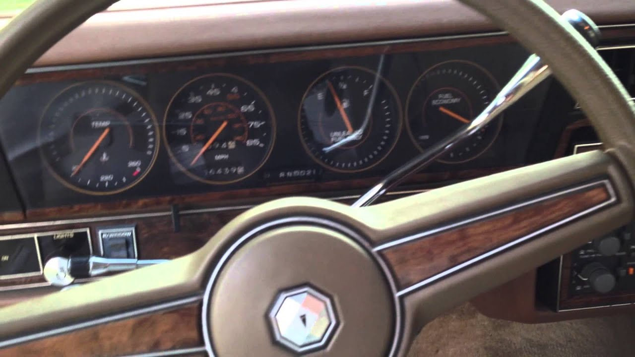 Pontiac Parisienne Safari Wagon 1985 Long Roof Box Wagon