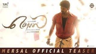 Mersal -OFFICIAL Tamil Teaser Vijay AR Rahman Atlee(Slo Mo)
