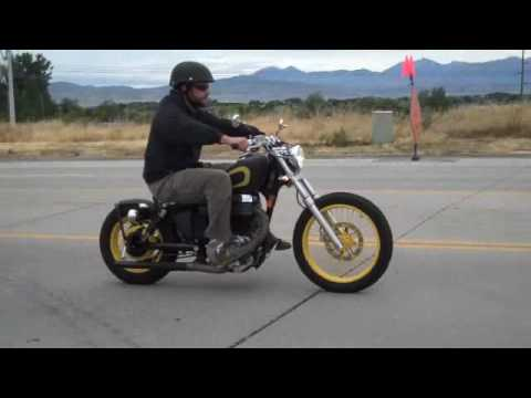 Suzuki S40 Savage Bolt On Bobber Kit Ride Youtube