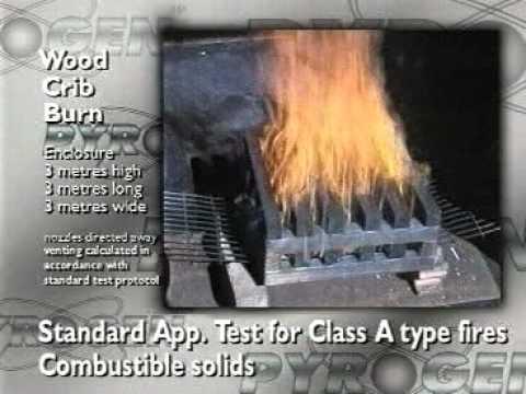 Pyrogen - developed from solid rocket fuel technology