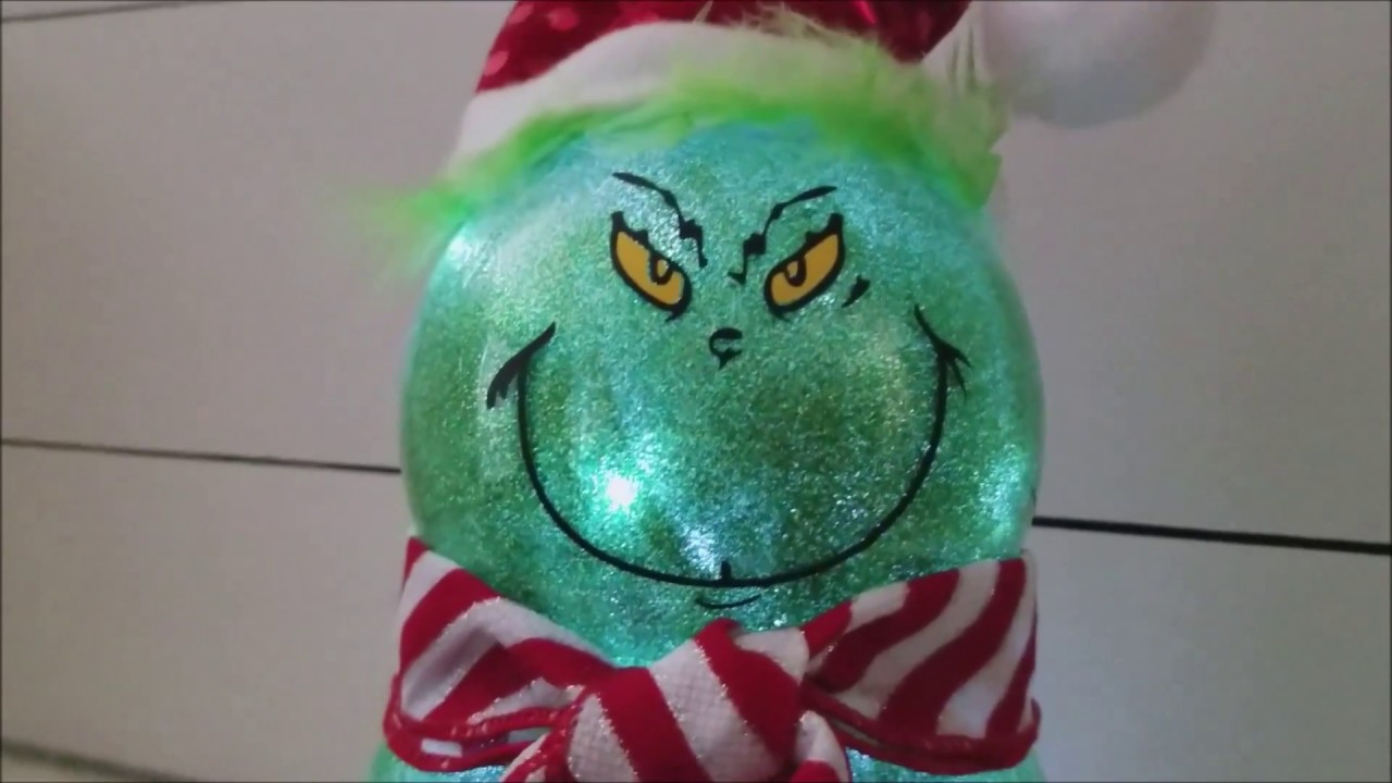 Diy Grinch Decorations From Dollar Store Supplies