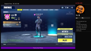 Playing Fortnite Battle Royal on PS4 using keyboard and mouse