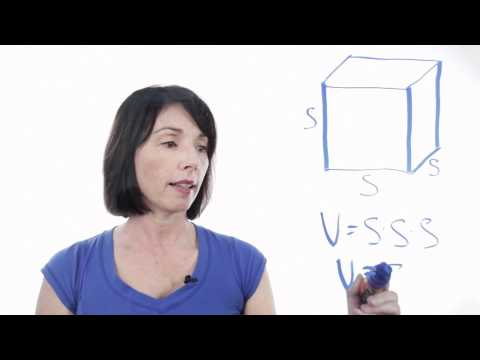 How to Find the Volume of a Cube