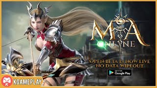 MIA Online Open Beta Gameplay MMORPG Android/iOS