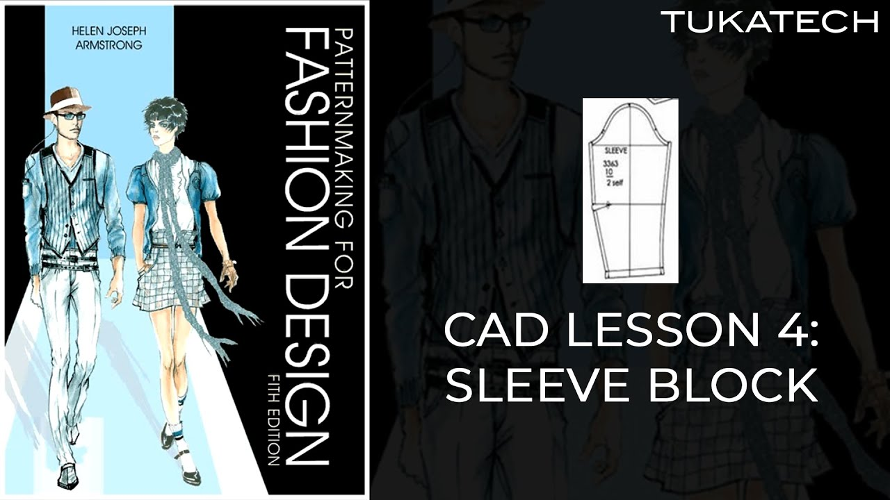 Lesson 4 Sleeve Block Pattern Pattern Making For Fashion Design Dvd
