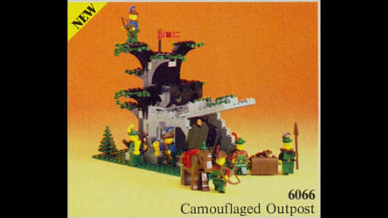 Top 10 Lego Castle Forestmen Sets Of All Time Youtube