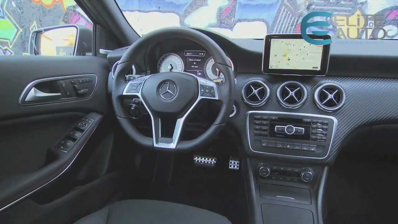 Essai mercedes classe a 200 cdi blueefficiency 7g dct for Interieur de la bouche blanche