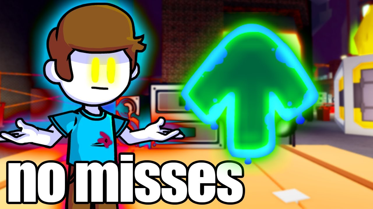 FNF Nonsense Mod but if I miss a note, the video ends.. (Friday Night Funkin')