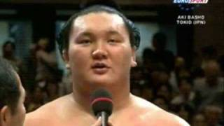 Highlights from the Aki-Basho(秋場所) in Tokio 2007 Day 13, 14 and ...