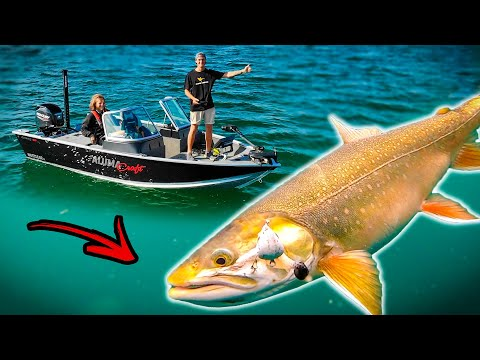 Fishing BIG CHAR In Crystal Clear Water (INCREDIBLE UNDERWATER PHOTO) | Team Galant