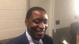 Isiah Thomas reminisces on Detroit Pistons' Bad Boys