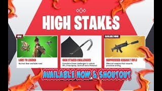FORTNITE NEW UPDATE HACVAT SKIN & NEW SHADOW PUPPET GLIDER & TREE SPLITTER AVAILABLE NOW & SHOUTOUT
