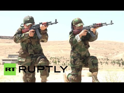 Female Fighters: Women take up arms against ISIS in Syria