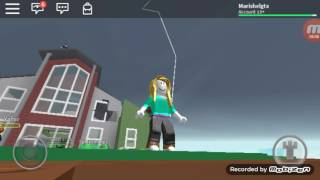 Natural Disaster roblox - Mari Mari 048