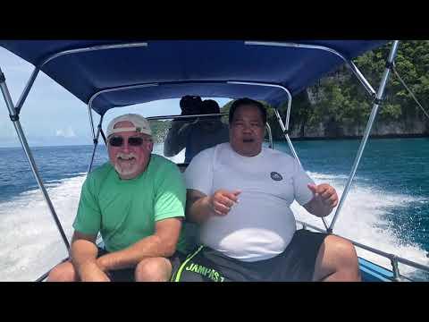 Rock Islands Palau March 2018