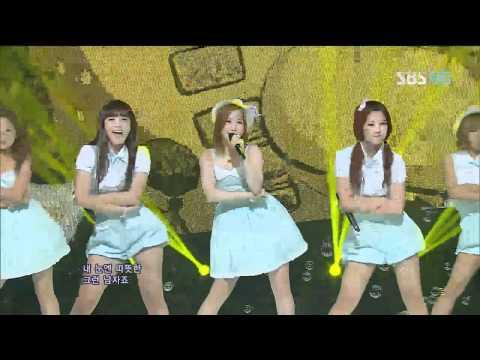 A pink [BUBIBU] @SBS Inkigayo 인기가요 20120708