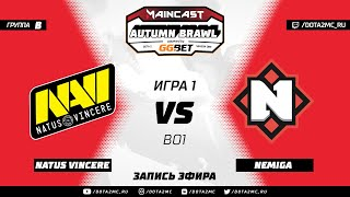 Natus Vincere vs Nemiga (карта 1), MC Autumn Brawl, Групповой этап