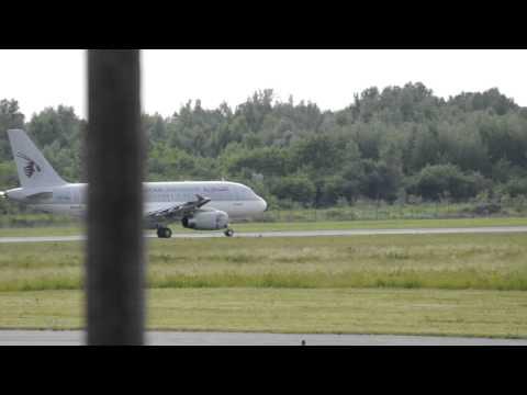 Qatar Airways (Qatar Amiri Flight) Airbus A319-133X CJ Takeoff (Warsaw F.Chopin - EPWA)