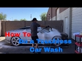 Touchless Car Wash Tutorial - How To do a Touchless Wash