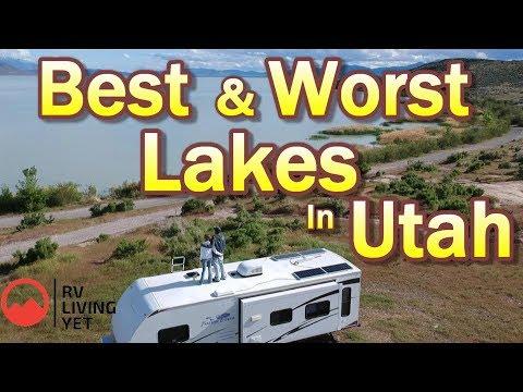 Best And Worst Lakes - Utah (2020) Best Free Camping Views At Utah Lake...