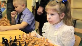 видео В детском саду состоялся 1 шашечный турнир