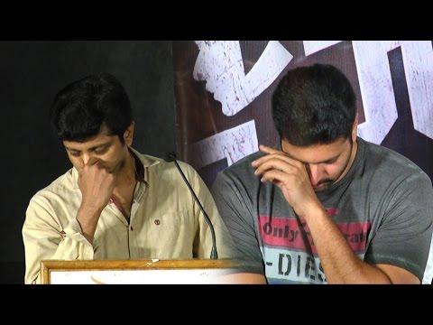 Jayam Ravi and Mohan Raja emotional tears for Thani Oruvan    Success Meet