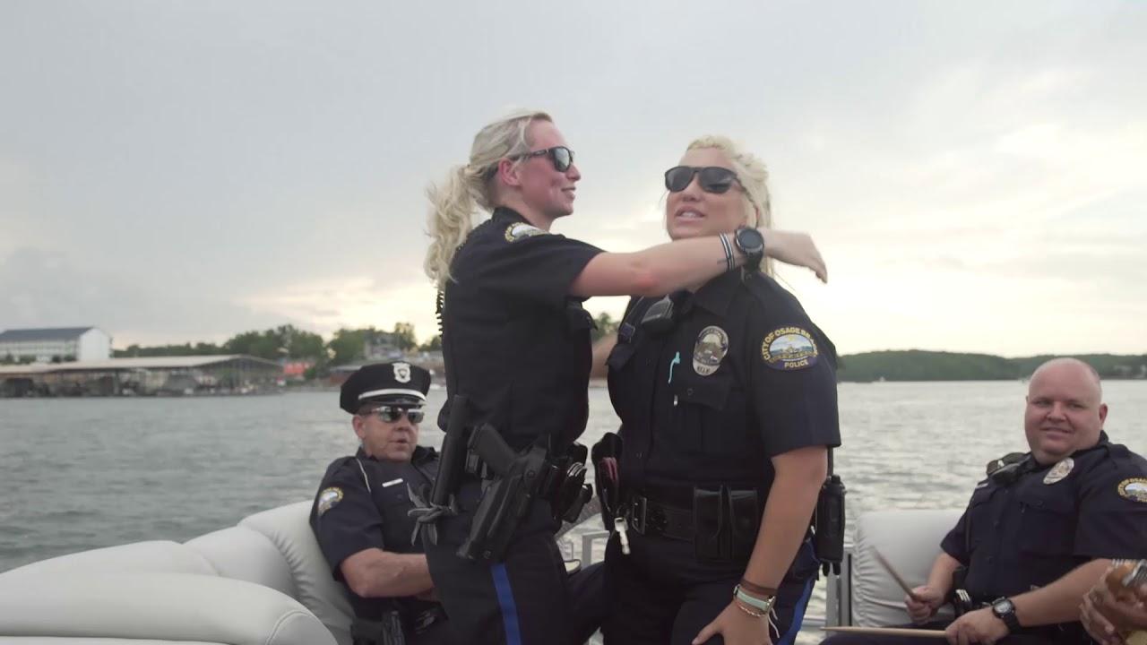 Lake Of The Ozarks Cops Do The Lip Sync Challenge, Lake
