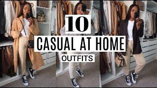 10 CASUAL AT HOME OUTFITS | ZARA ASOS TOPSHOP